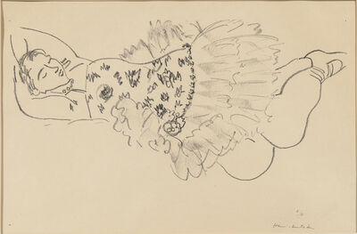 Henri Matisse, 'Danseuse endormie', 1926-27