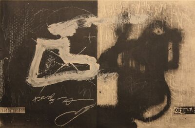 Antoni Tàpies, 'Variations 13', 1987