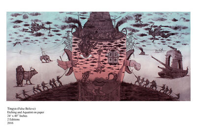 Yogesh Ramakrishna, 'Tingya', 2016