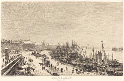 Maxime Lalanne, 'Rade de Bordeaux', 1868