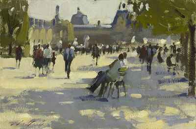 Paul Rafferty, 'In The Shade, Tuileries Gardens', 2013