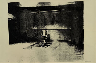 Mike Bidlo, 'Not Warhol (Electric Chair, 1964)', 1984