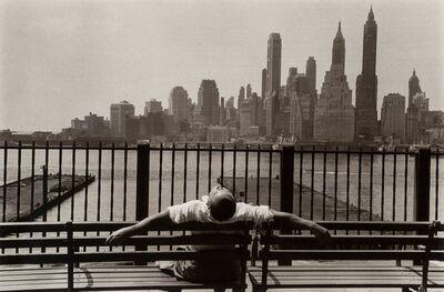 Louis Stettner, 'Promenade, Brooklyn', 1954