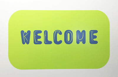 Nancy Dwyer, 'Welcome', 2015