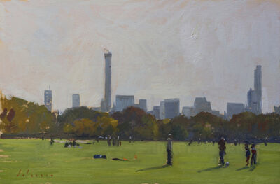 Marc Dalessio, 'Soccer Players in Central Park', 2014