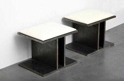 Bernar Venet, 'Steel Stools', 2012