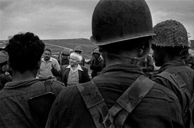 Micha Bar-Am, 'David Ben Gurion, Ramat Poriah', 1960