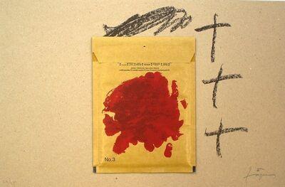 Antoni Tàpies, 'Sobre i vermell', 2000