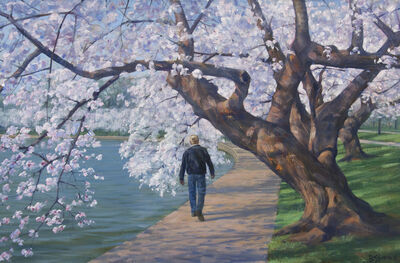 Bradley Stevens, 'Through the Cherry Trees'