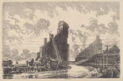 Joseph Pennell, 'Coal Breaker on the River', 1910