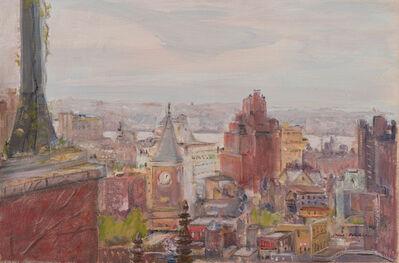 Jane Freilicher, 'Untitled (Cityscape Looking West)', 1970s