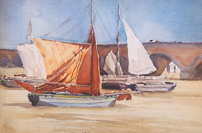 Florence Robinson, 'Bordeaux Sailboats', Unknown