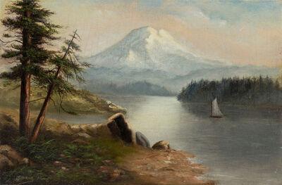 Grafton Tyler Brown, 'Untitled (Sailboat on a Mountain Lake)', 1891