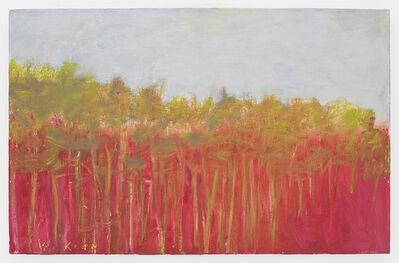 Wolf Kahn, 'Red Landscape', 2009