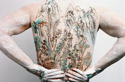 Huang Yan, 'Chinese Shan-Shui Tattoo 5', 1999