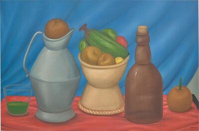 Fernando Botero, 'Still Life with Bottle', 1982