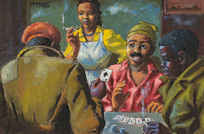 George Pemba, 'The Card Players', 1952