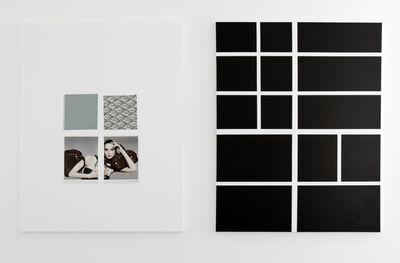 Josephine Meckseper, 'Untitled (Diptych Woman)', 2007