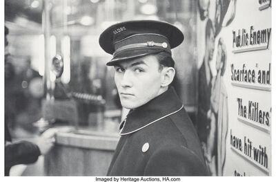 Louis Faurer, 'Globe Theater, New York, New York', 1950