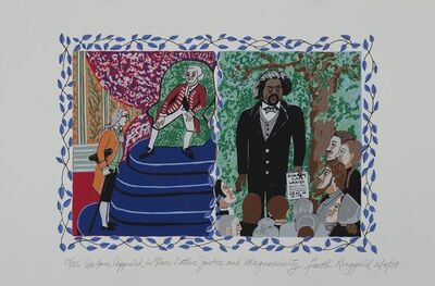 Faith Ringgold, 'We Appealed To Their Native Justice and Magnanimity ', 2009