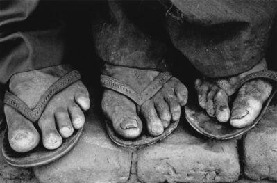 Sebastião Salgado, 'Feet, Brasil', 1983