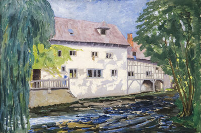 Sir Winston Churchill, 'The Mill at St.-Georges-Motel', ca. 1930