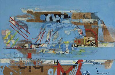 Sam Middleton, 'London Bridge', 1981