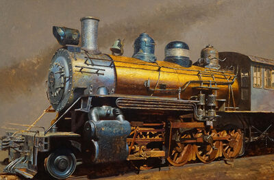 Drew Ernst, 'Golden Train', 2019