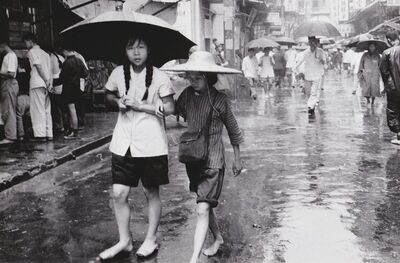 Agnès Varda, 'Sud de la Chine, jour de pluie', 1957