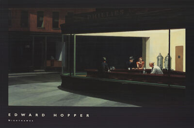 Edward Hopper, 'Nighthawks, 1942', 2002