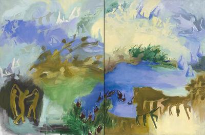 Iwalani Kaluhiokalani, 'Long Distance, diptych', 2020