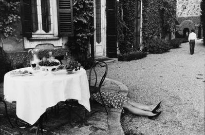 Gianni Berengo Gardin, 'Pausa lavoro, Milano', 1987