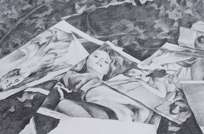 George Shaw (b. 1966), 'Study for Mocht Ich Zurocke Wiede Wanken', 2016