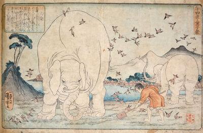 Utagawa Kuniyoshi, 'Taishun', ca. 1842