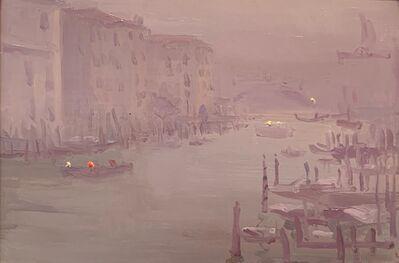 Robbie Wraith, 'Grand Canal, Mist', 2019