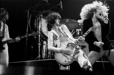Michael Putland, 'Led Zeppelin, Live at Madison Square Garden, New York', 1977