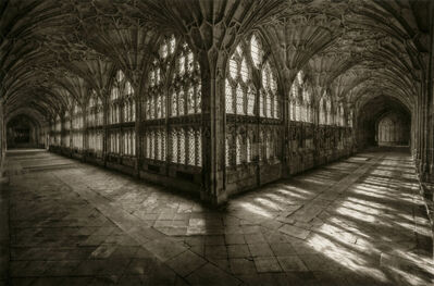 Dick Arentz, 'Cloisters 2, Glouster Cathedral, England', 2018