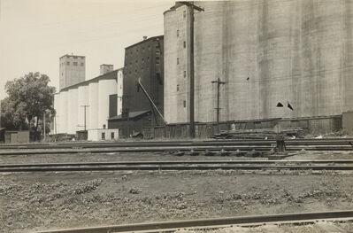 Ralston Crawford, 'Third Avenue El * Grain Field'