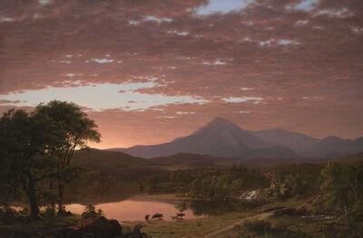 Frederic Edwin Church, 'Mt. Ktaadn', 1853