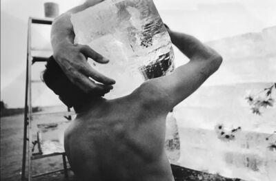 Dennis Hopper, 'Allan Kaprow, Fluids, L.A., (ice block on shoulder)', 1967