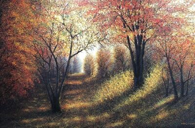 Narate Kathong, 'The Season Of Love- Autumn Trail II', 2009