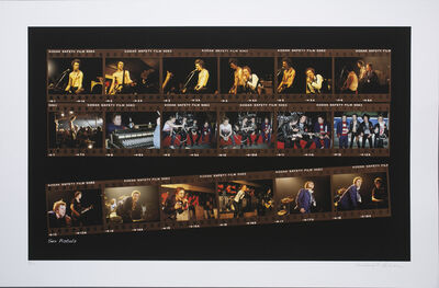 Richard E. Aaron, 'Sex Pistols Contact Sheet on Hahnemuhle Paper', 2000-2009