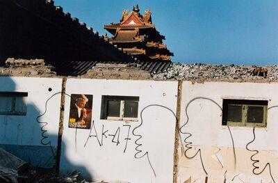 Zhang Dali, 'Demolition Site', 1998