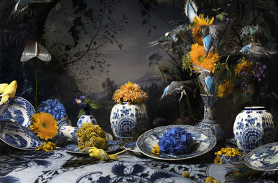 Hans Withoos, 'Still Life in Delftware', 2018
