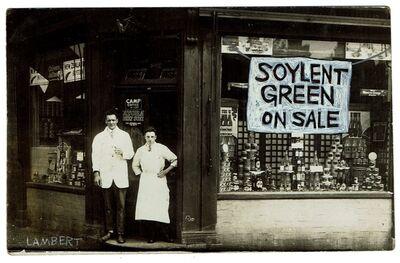 David Lambert, 'Soylent Green, On Sale', 2020