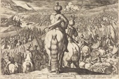 Antonio Tempesta, 'Defeat of the Ethiopians', 1613