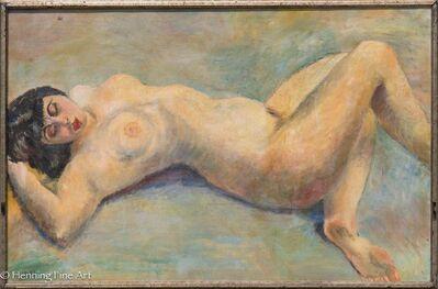 Arthur Beecher Carles, 'Nude Portrait of Alma Davies'