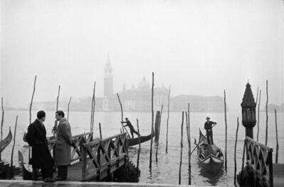 Fred Maroon, 'Gondolas, Venice', 1950