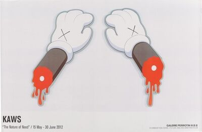 KAWS, 'The Nature of Need, Exhibition Poster', 2012