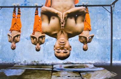 Steve McCurry, 'Shaolin Monks Training, Zhengzhou, China', 2004